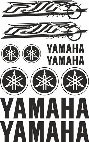 Picture of Yamaha FJR 1300 Warrior Decals / Sticker kit