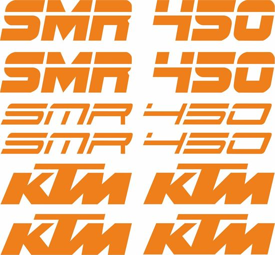 Picture of KTM 450 SMR Decals / Stickers Kit
