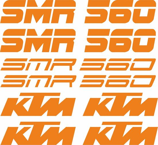 Picture of KTM 560 SMR Decals / Stickers Kit