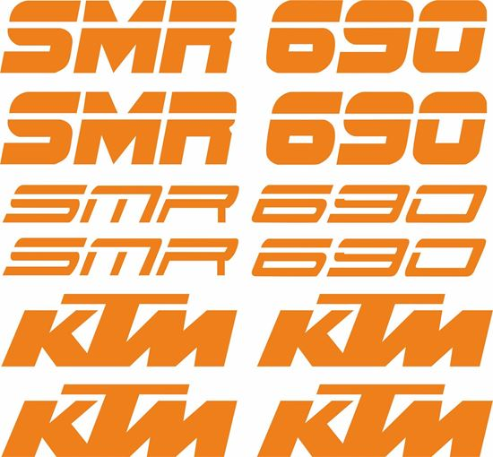 Picture of KTM 690 SMR Decals / Stickers Kit