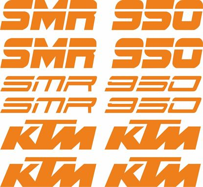Picture of KTM 650 SMR Decals / Stickers Kit