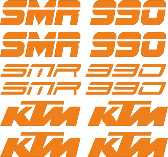 Picture of KTM 990 SMR Decals / Stickers Kit