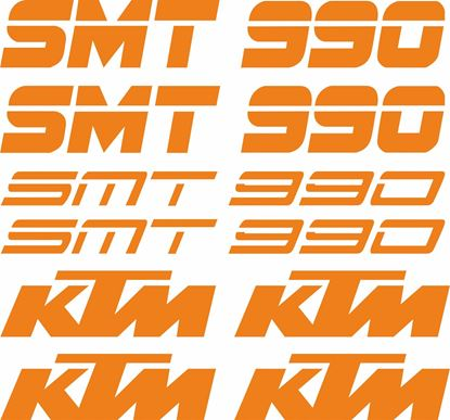 Picture of KTM 990 SMT Decals / Stickers Kit