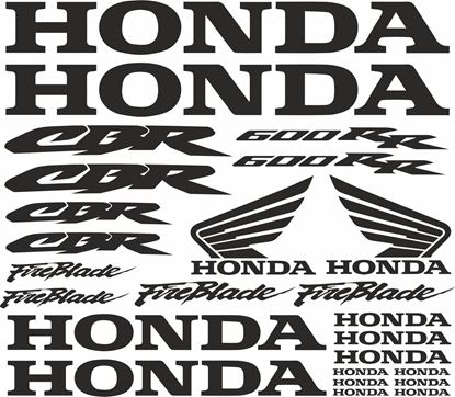 Picture of Honda CBR Fireblade 600RR  Decals / Sticker kit