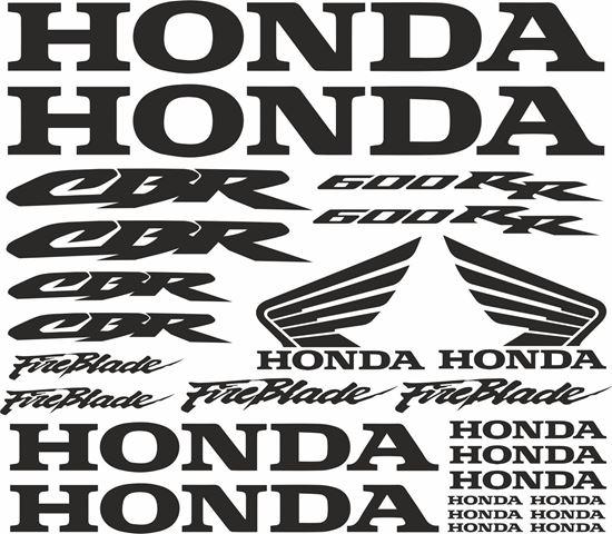 Picture of Honda CBR Fireblade 600RR  Decals / Sticker kit