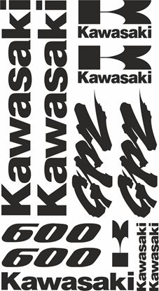 Picture of Kawasaki GPZ 600  Decals / Stickers kit