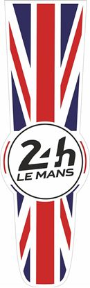 Picture of United Kingdom Le Mans 24hr Racing Bonnet Stripe Sticker