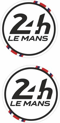Picture of United Kingdom Le Mans 24hr Racing general panel / Mirror cover Decals / Stickers