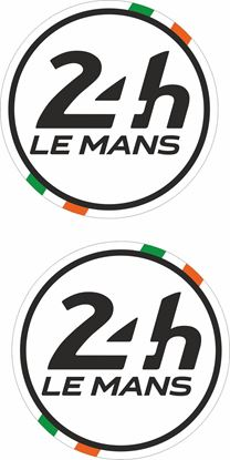 Picture of Ireland Le Mans 24hr Racing general panel / Mirror cover Decals / Stickers