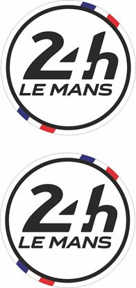 Picture of France Le Mans 24hr Racing general panel / Mirror cover Decals / Stickers