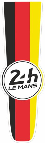 Picture of Germany Le Mans 24hr Racing Bonnet Stripe Sticker