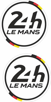 Picture of Germany Le Mans 24hr Racing general panel / Mirror cover Decals / Stickers