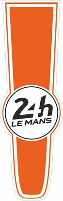 Picture of Custom Colours Le Mans 24hr Racing Bonnet Stripe Sticker