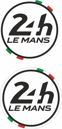 Picture of Italy Le Mans 24hr Racing general panel / Mirror cover Decals / Stickers