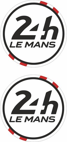 Picture of Denmark Le Mans 24hr Racing general panel / Mirror cover Decals / Stickers