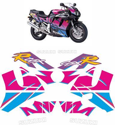Picture of SUZUKI GSX-R 750 1992 -1993 replacement Decals / Stickers