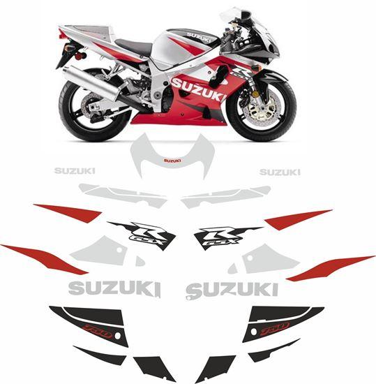 Picture of Suzuki GSX-R 750 2001 replacement Decals / Stickers