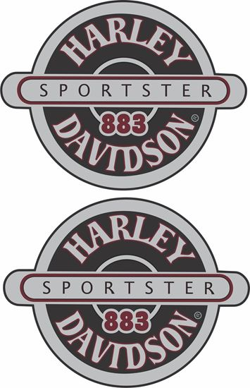 Picture of Harley Davidson Sportster 883  Decals / Stickers