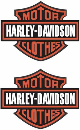 Picture of Harley Davidson clothes Decals / Sticker