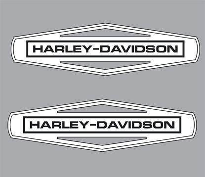 Picture of Harley Davidson panel / Tank Decals / Stickers