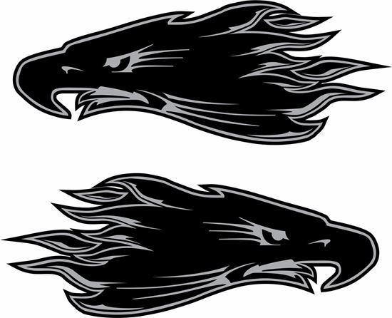 Picture of Harley Davidson panel / Tank  Decals / Stickers - copy