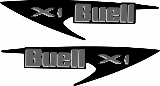 Picture of Harley Davidson Buell X1 Tank replacement Decals / Stickers