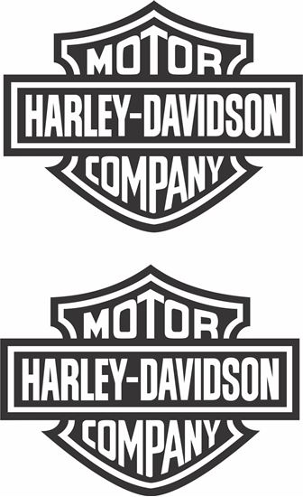 Picture of Harley Davidson panel Decals / Stickers
