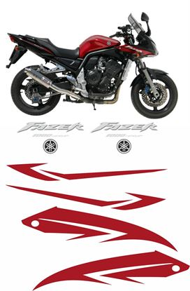 Picture of Yamaha Fazer FZS 1000 2005 Replacement Decals / Stickers