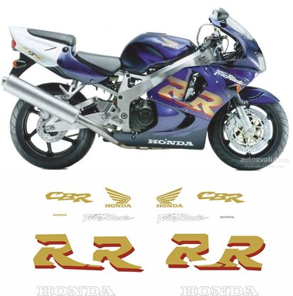 Picture of Honda CBR 900RR  Fireblade  1998 replacement Decals / Stickers