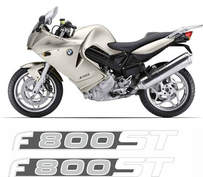 Picture of BMW F 800ST  Replacement side fairing Decals / Stickers
