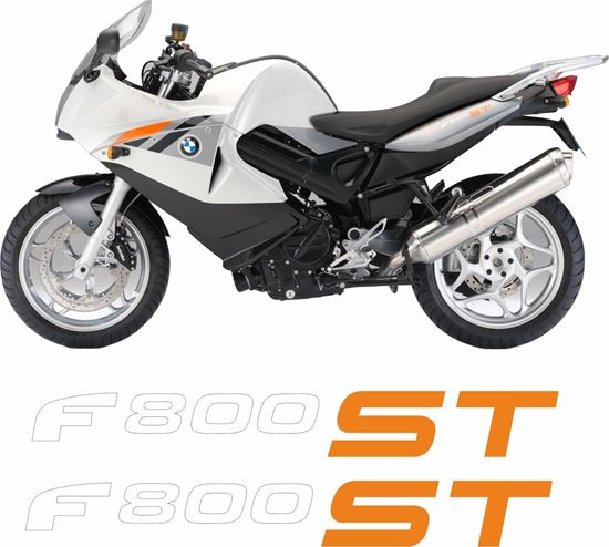 Picture of BMW F 800ST  2012 Replacement Tail Decals / Stickers