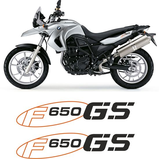 Picture of BMW F 650 GS  2011 Replacement Tail Decals / Stickers