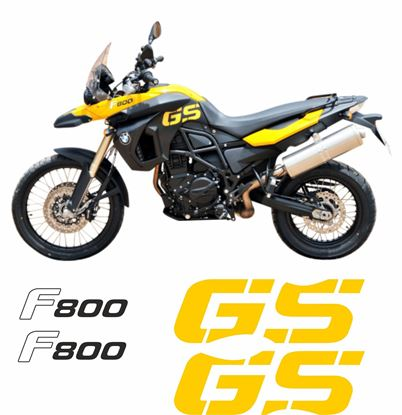 Picture of BMW F 800 GS 2008 - 2012 replacement Decals / Stickers