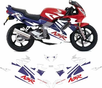 Picture of Honda NSR 125  1998  - 1999 replacement Decals / Stickers