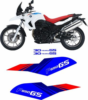 Picture of BMW F 650 GS 30 Years Special 2011 replacement Decals / Stickers