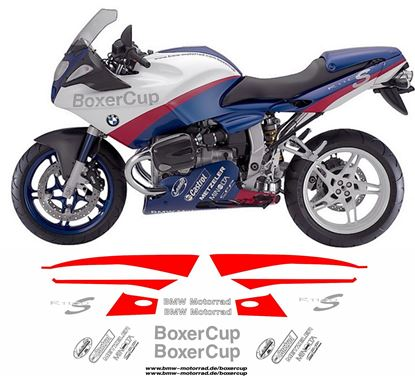 Picture of BMW R 1100 S Boxer Cup 2004  Decals / Stickers