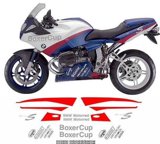 Zen Graphics Bmw R 1100 S Boxer Cup 2004 Decals Stickers