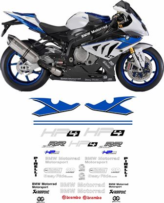 Picture of BMW S 1000 RR  Decals / Stickers
