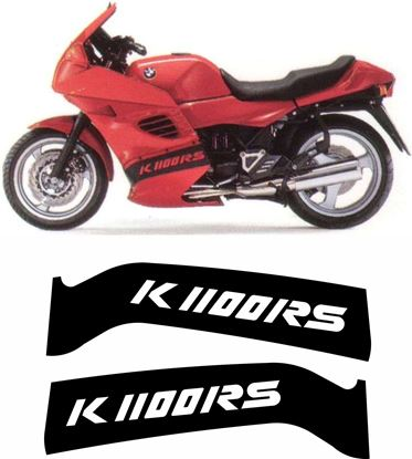 Picture of BMW K 1100 RS  1995 - 1996 Replacement fairing Decals / Stickers
