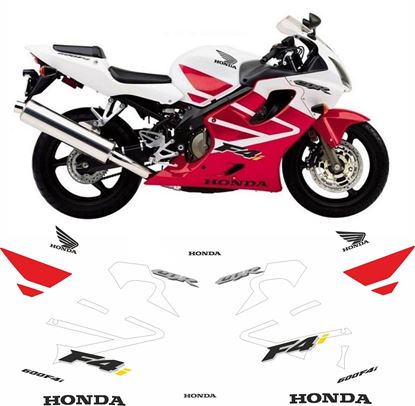 Picture of Honda CBR 600F 4i 2001 - 2003   replacement graphics / Stickers