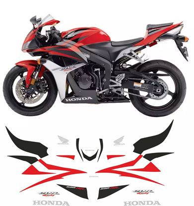 Picture of Honda CBR 600RR 2007 - 2008 Replacement Decals / Stickers