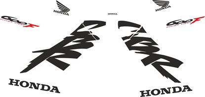 Picture of Honda CBR 600 F4 1999 - 2000 Custom colour Decals / Stickers