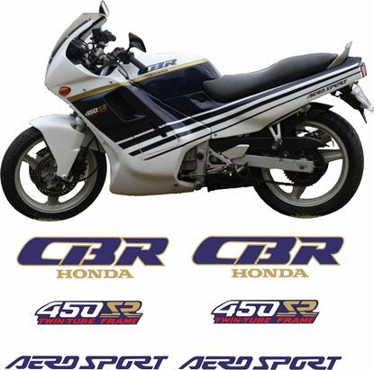 Picture of Honda CBR 450 SR 1990 Replacement Decals / Stickers