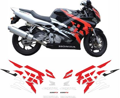 Picture of Honda CBR 600 F3 1995 - 1998 replacement Decals / Stickers