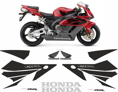 Picture of Honda CBR 1000RR 2004 - 2005 replacement graphics / Stickers