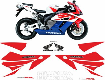 Picture of Honda CBR 1000RR 2004 -2005 replacement graphics / Stickers