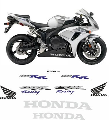 Picture of Honda CBR 1000RR Racing 2006 - 2007  Replacement Decals / Stickers
