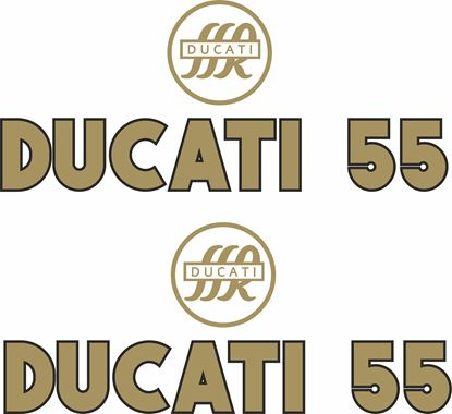 Picture of DUCATI 55  SSR  Decals / Stickers