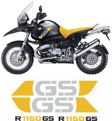 Picture of BMW  R 1150 GS  2003 - 2004 Replacement Decals / Stickers