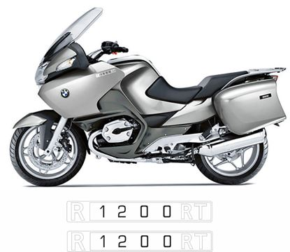 Picture of BMW  R 1200 RT  2005 - 2009 Replacement Fairing Decals / Stickers